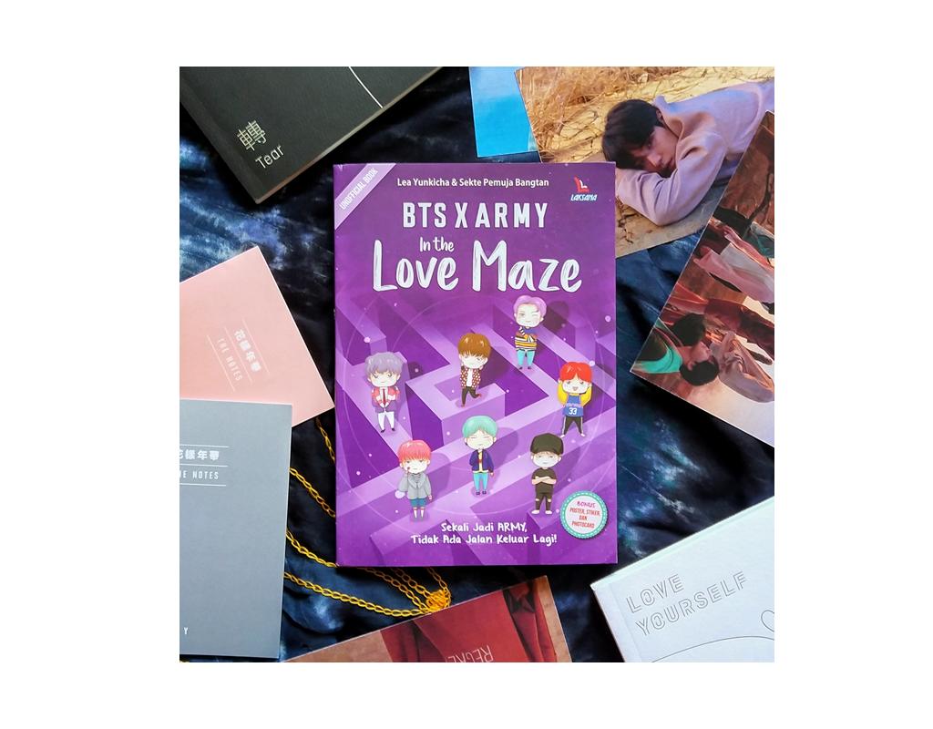 [Review] BTS x ARMY In The Love Maze; Sekali Jadi ARMY, Tidak Ada Jalan Keluar Lagi